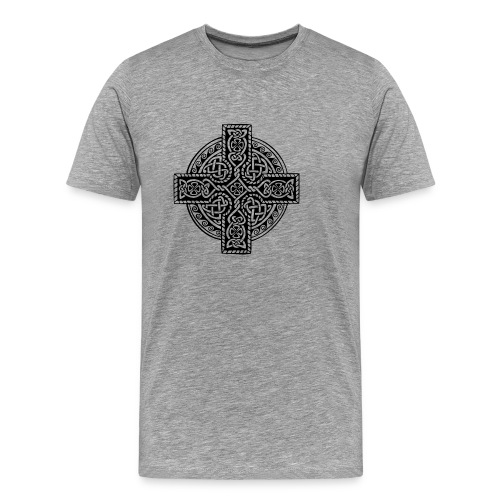 Celtic Cross - Männer Premium T-Shirt