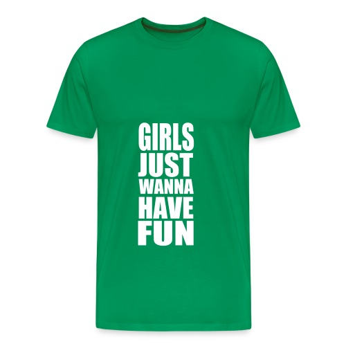Wanna have fun - Premium-T-shirt herr