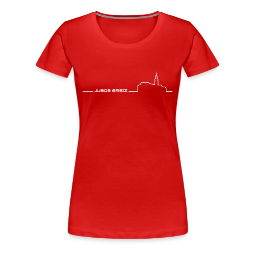 T-Shirt Female - Frauen Premium T-Shirt