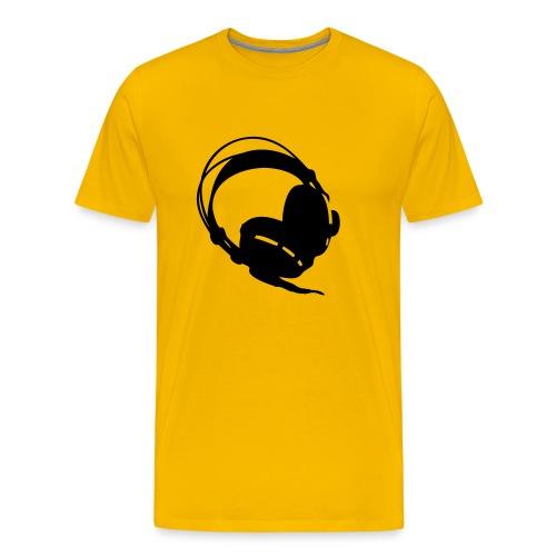 Spuif Headphone - Mannen Premium T-shirt