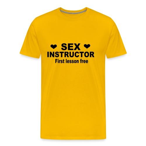 Camiseta Instrutor - Camiseta premium hombre