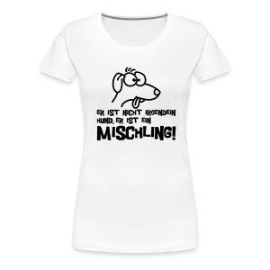 Mischling - white girlie - Frauen Premium T-Shirt
