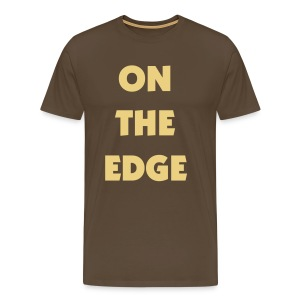 On the edge - Men's Premium T-Shirt