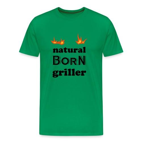 Basis, griller - Premium T-skjorte for menn