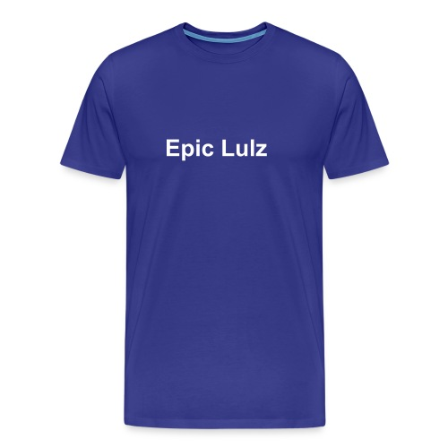 Epic Lulz - Premium T-skjorte for menn