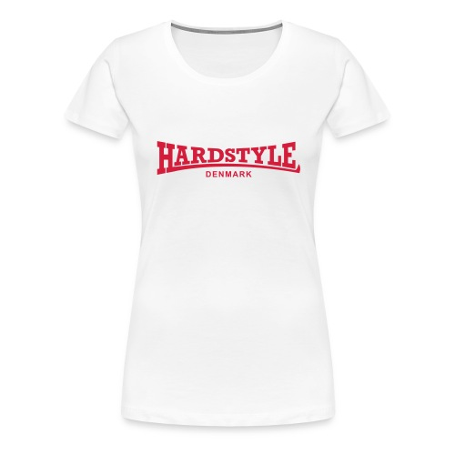 Hardstyle Denmark - Red - Women's Premium T-Shirt
