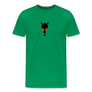 alien-skull Shirt - Männer Premium T-Shirt