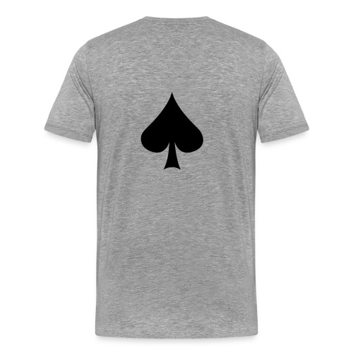 pokershirt - Premium-T-shirt herr