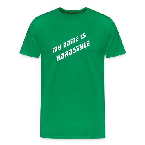 My name is hardstyle - Mannen Premium T-shirt