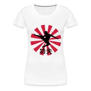 Kung Fu Woman T-shirt - Women's Premium T-Shirt