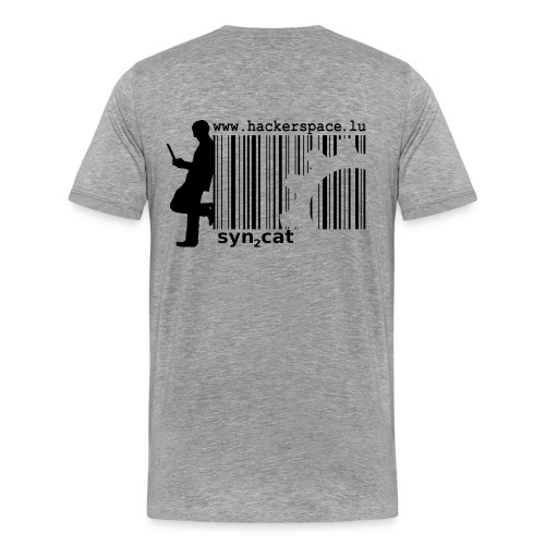 A matter of your background (grayhat edition) - Men's Premium T-Shirt