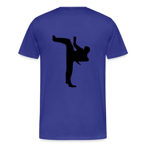 Taekwondo - Premium-T-shirt herr