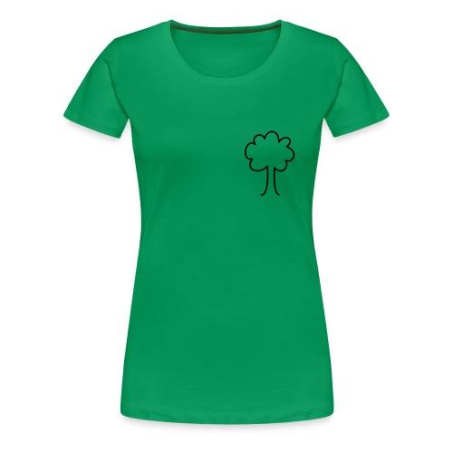 Bomen behouden - Vrouwen Premium T-shirt