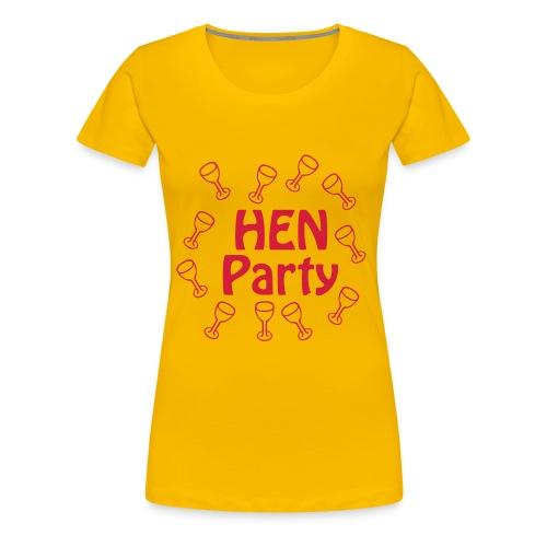 Hen Night T-Shirt - Women's Premium T-Shirt