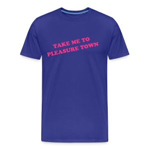 Pleasure Town - Anchorman Tee - Men's Premium T-Shirt