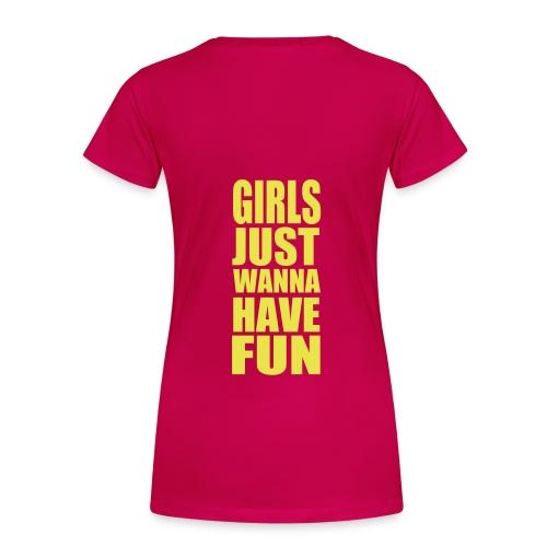 Studentflak 1 - Premium-T-shirt dam