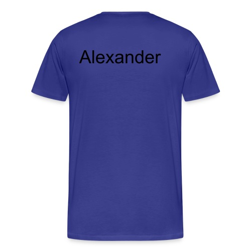 Names- Alexander - Men's Premium T-Shirt