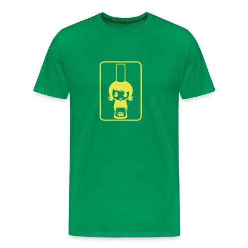 Bigoudène - Vert/Jaune - T-shirt Premium Homme