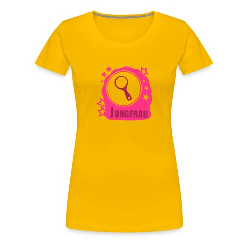 Sternzeichen Jungfrau - Frauen Premium T-Shirt