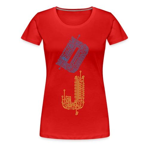 dj women's tee - Women's Premium T-Shirt