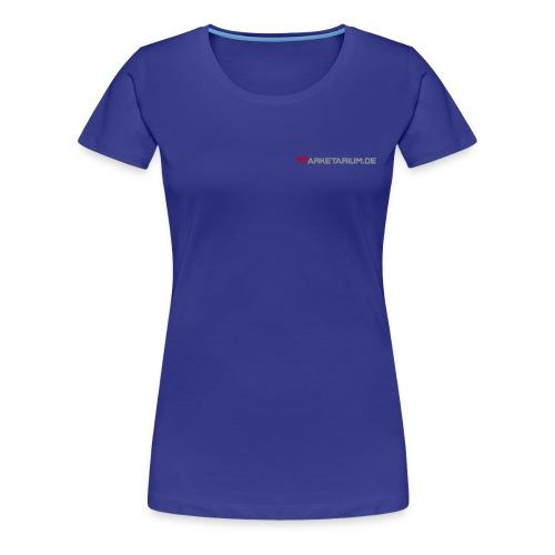 Marketarium.de - Frauen Premium T-Shirt