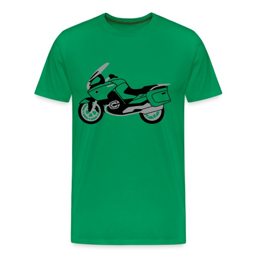 R1200RT Black Lowers (Khaki Green) - Men's Premium T-Shirt