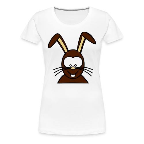hase - rabbit - Frauen Premium T-Shirt