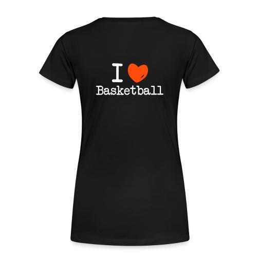 Basketball girl - Vrouwen Premium T-shirt