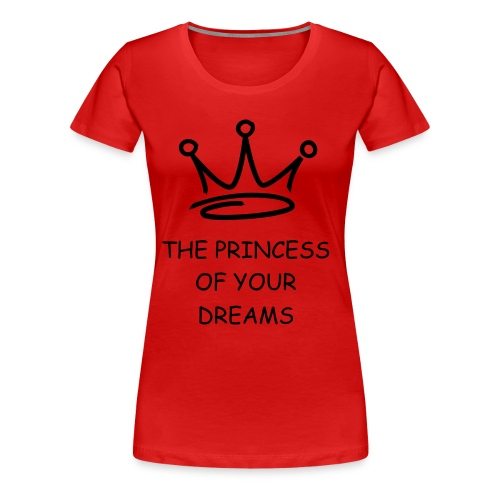Women's Premium T-Shirt - pincess,dream,crown