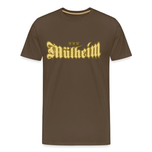 Muelheim (Frakturschrift) - Männer Premium T-Shirt