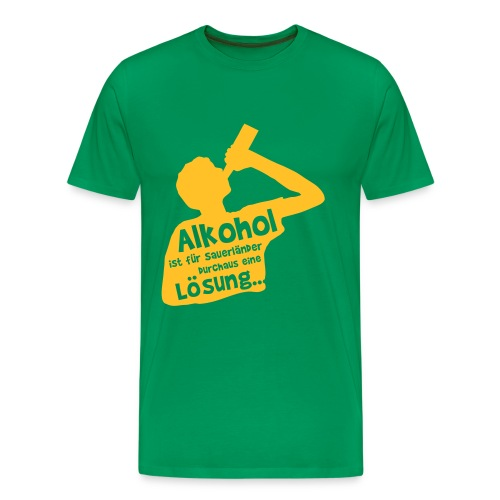 Lösung - Männer Premium T-Shirt