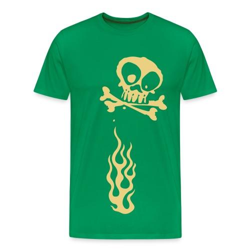 Angel of Fire - Herre premium T-shirt
