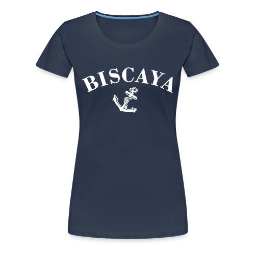 T-shirt Biscaya Blå Dam - Premium-T-shirt dam