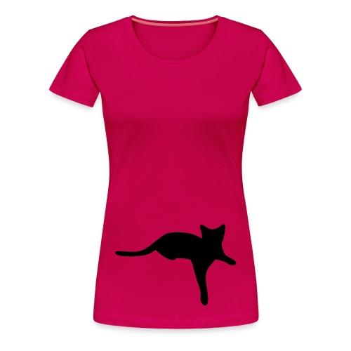 katze -.cat - Frauen Premium T-Shirt