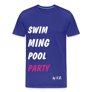 Swimming pool Party - T-shirt Premium Homme
