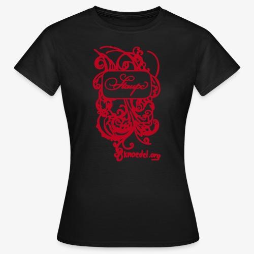 Staupe Rot - Frauen T-Shirt