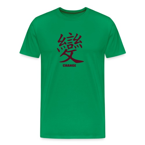 Change - Camiseta premium hombre