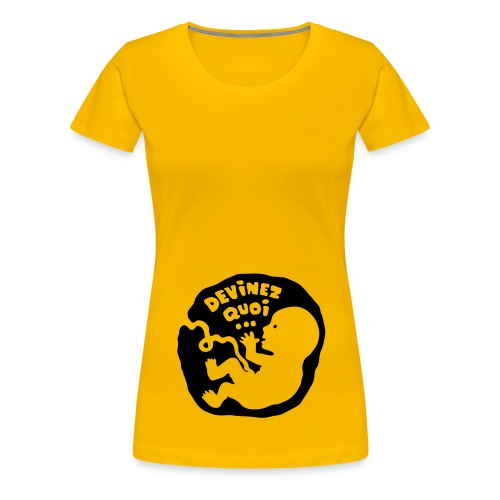 t-shirt bébé fille - T-shirt Premium Femme