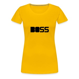 boss - Women's Premium T-Shirt