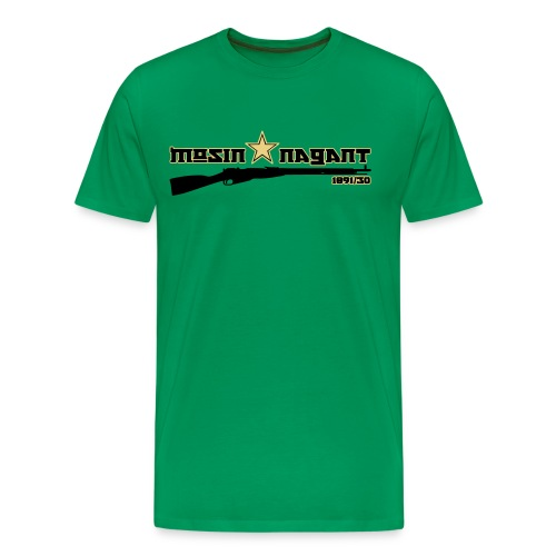 Mosin Nagant 1891/30 khaki green Flex Print - Men's Premium T-Shirt