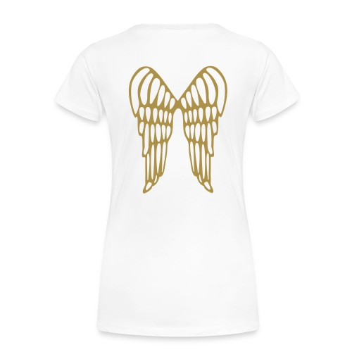 Shirt Gold Angel - Frauen Premium T-Shirt