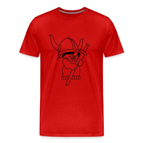Funny Viking - Mannen Premium T-shirt