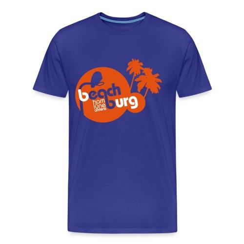 beach burg tee nackt - Männer Premium T-Shirt