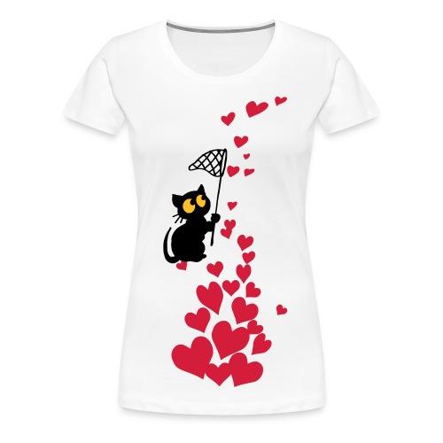 Heart catcher - Women's Premium T-Shirt