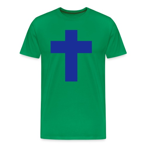 Men's T-shurt Cross - Men's Premium T-Shirt