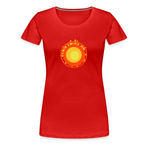 Sun t-shirt - Women's Premium T-Shirt