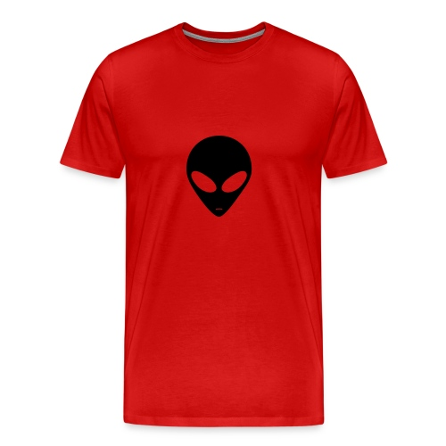 ALien Head - Men's Premium T-Shirt