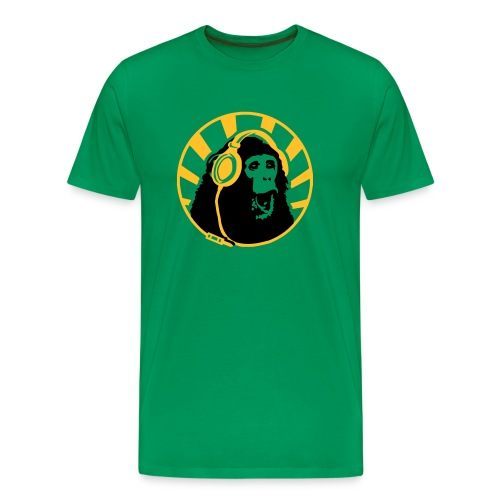 Monkey Jah - T-shirt Premium Homme