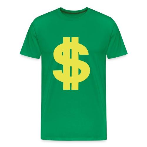 Dollar Shirt - Mannen Premium T-shirt