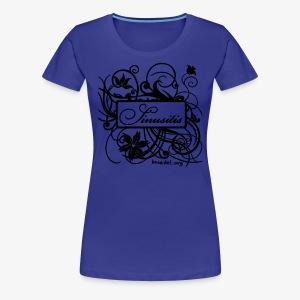 Sinusitis Schwarz - Frauen Premium T-Shirt